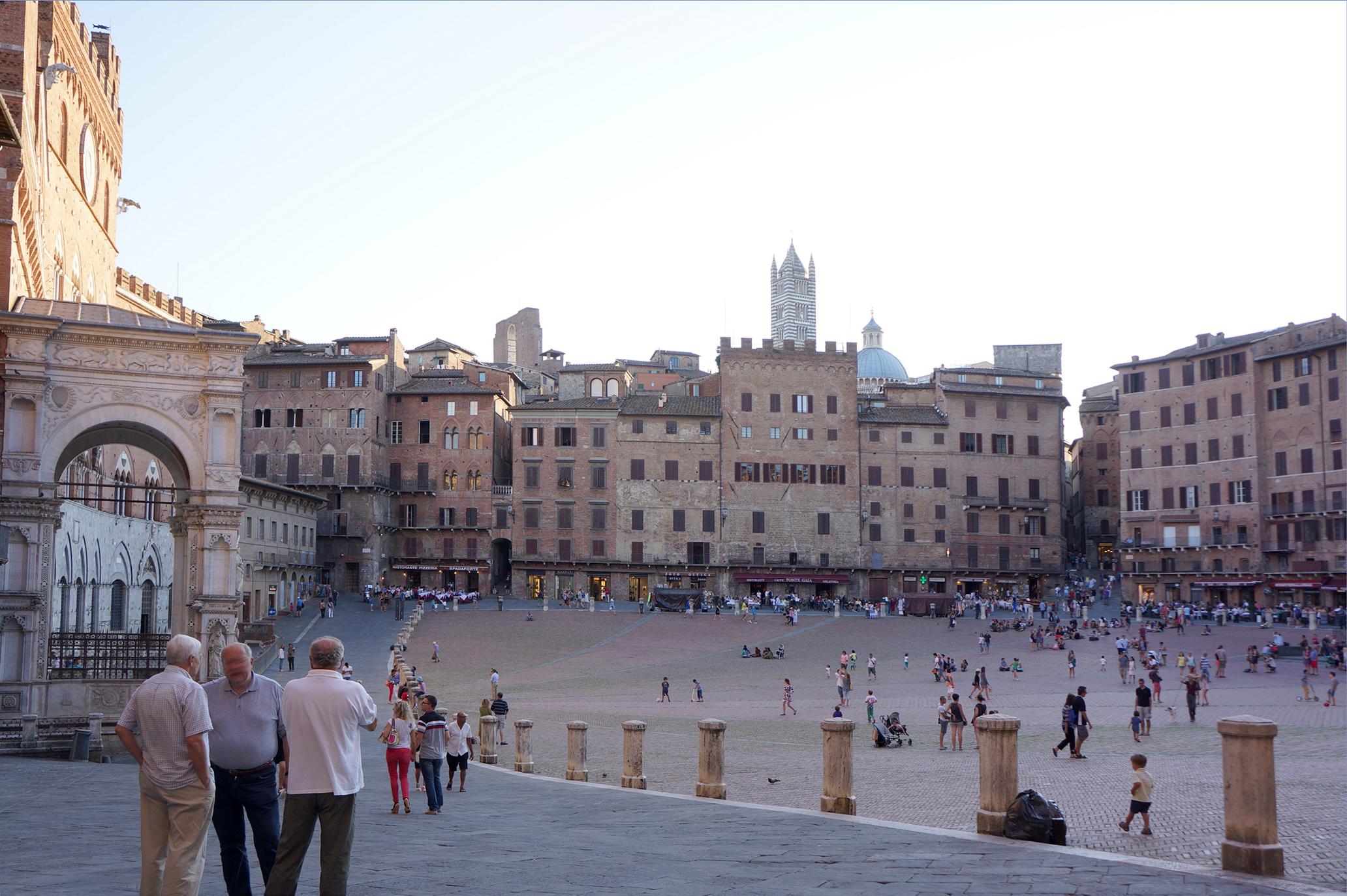 Siena Cafe Piazza Del Campo